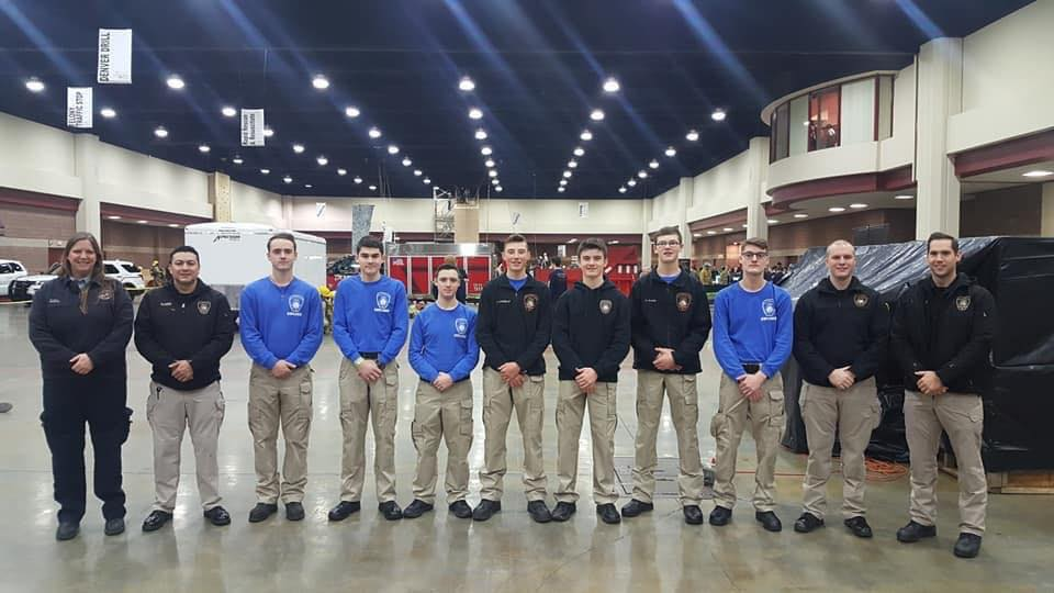 Fire Explorers at Winterfest