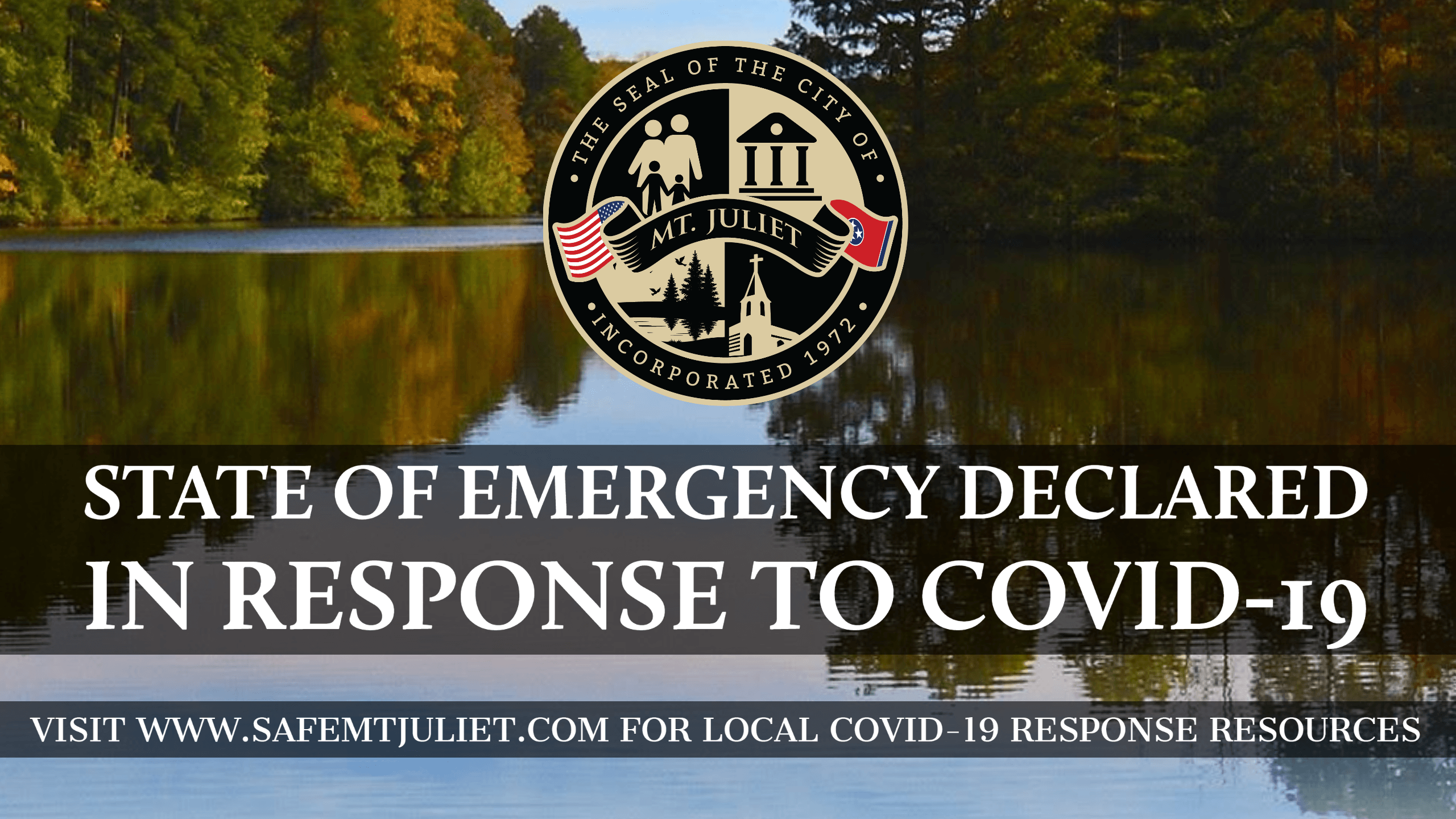 State of Emergency Banner